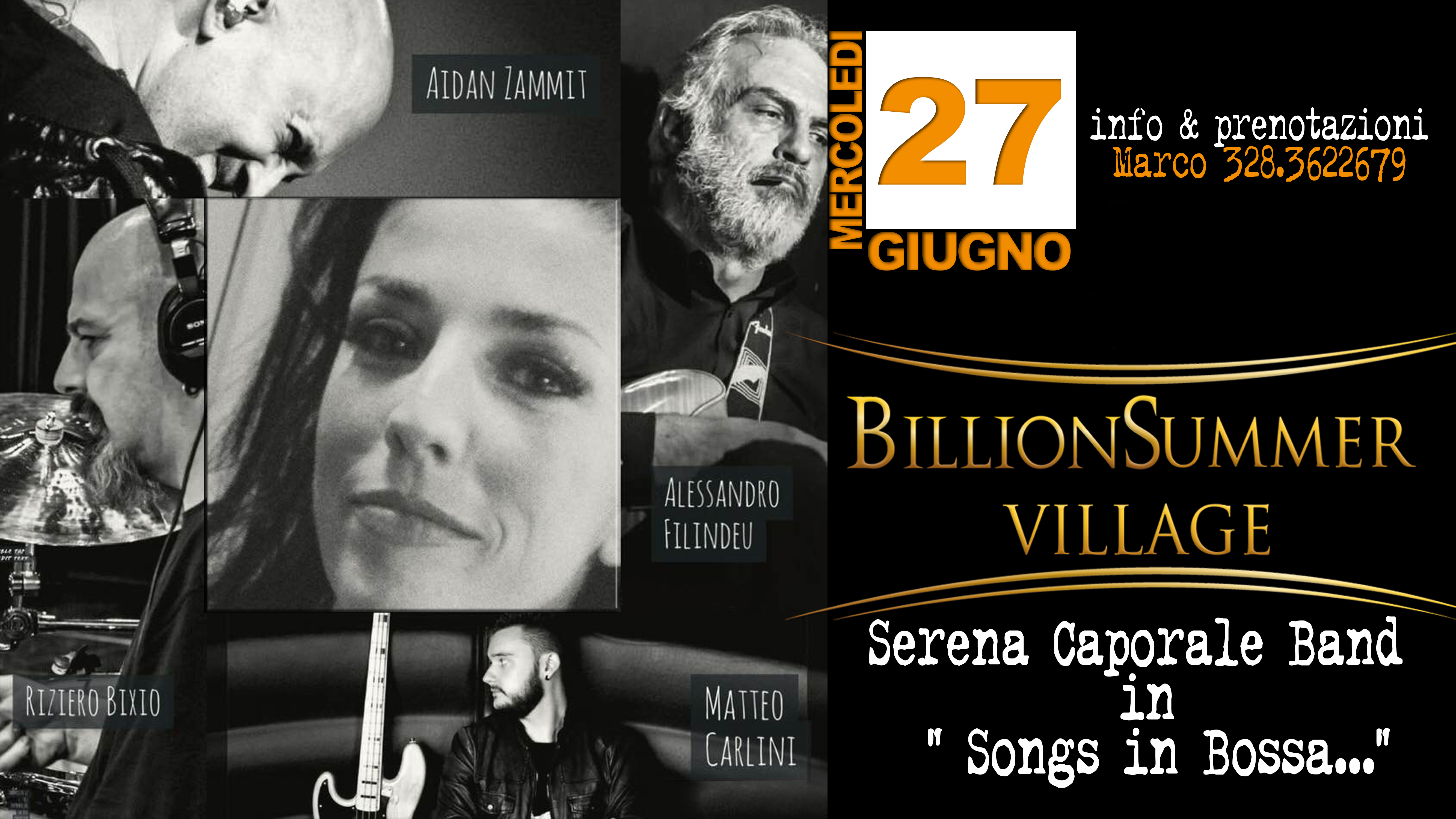 Serena Caporale Band - Song in Bossa