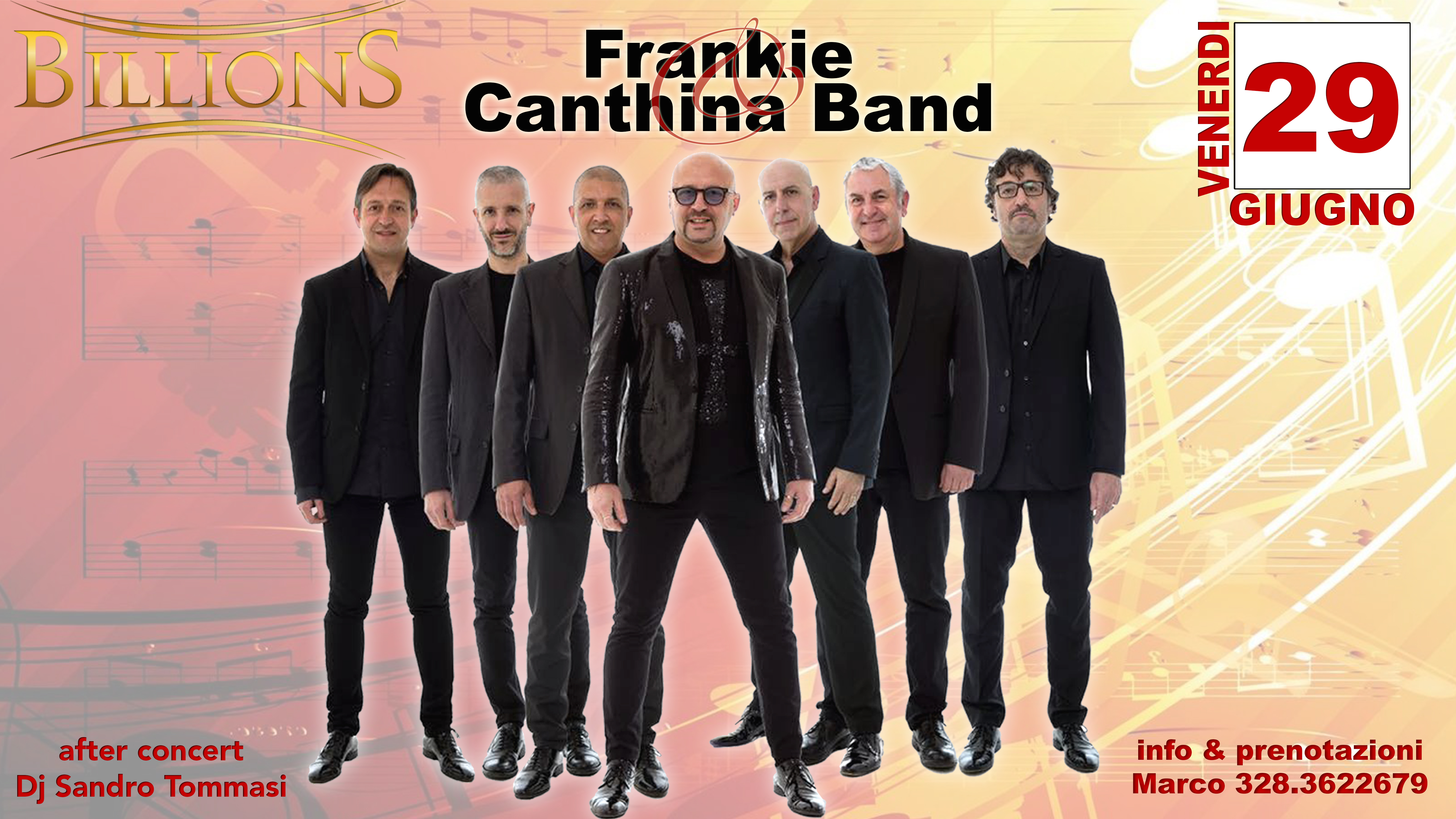 Frankie and Canthina Band