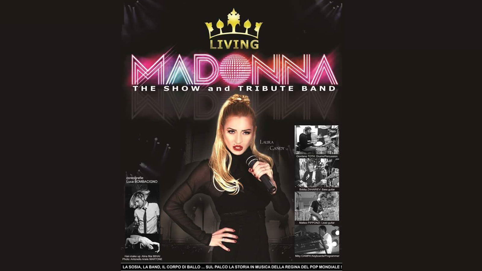 MADONNA The show and tribute band